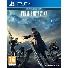PS4 GAME FINAL FANTASY XV 15 Day One Edition incl. masamune-waffe DLC NEW