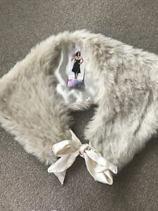 Marks And Spencer Faux Fur Cape