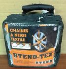 LOT 4 CHAINES CHAUSSETTES A NEIGE TEXTILE pour pneu 255/50 R18 marque BTEND-TEX
