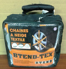 Lot 4 Chains Socks Snow Textile for Tire 275/40 R19 Brand Btend-tex