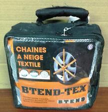 LOT 4 CHAINES CHAUSSETTES A NEIGE TEXTILE pour pneu 225/70 R16 marque BTEND-TEX
