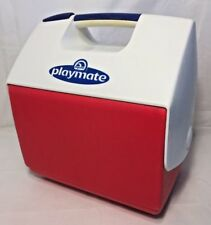 Vintage PlayMate Igloo Cooler Classic Rare Color Combo Push Button Handle