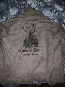Ralph Lauren Denim Supply SportsMans Sweater Mens XL