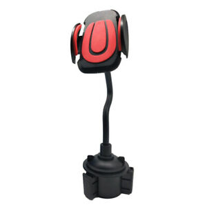 1xUniversal Durable Car Mount Adjustable Cup Holder Stand Cradle For Phone Parts