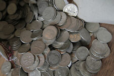 Survival Money 1946-1964 Roosevelt Dimes 90% Silver Circulated Mixed 50 Coin Lot