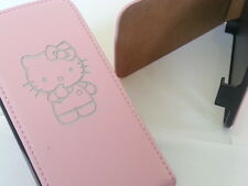 Samsung Galaxy Ace 2 I8160 Hello Kitty De Cuero Original Rosa Flip Phone caso 2