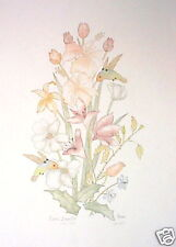 Moran; Floral Dynasty - flowers - signed & numbered