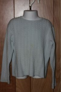 GIRL'S GAP CABLEKNIT SWEATER-SIZE: S (5-6)