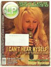 L2P LIVE TO PLAY MAGAZINE LINDA ANGELINE EAR MONITORS NEW GEAR REVIEWS VERY RARE