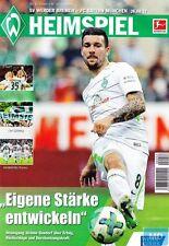 HEIMSPIEL + 26.08.2017 + SV Werder Bremen vs. FC Bayern München + Programm +
