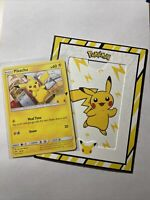 Pokemon TCG Pikachu 25/25 NON HOLO McDonald's 2021 Promo 25th Anniversary NM