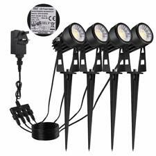 Garden Lights, 4 Packs LED Garden Spotlights 12V 3W Pathway Lighting,COB