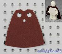 LEGO - Minifigure Cloth Cape Reddish Brown - Custom Fabric Robe Obi-Wan Jedi