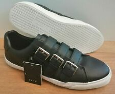 Zara Men's Black Buckle Up Trainers Casual Shoes UK Size 9