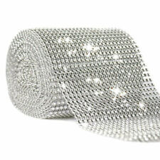 Diamond Mesh Wrap Ribbon Roll Cake Rhinestone Wedding Favor Party Decor Supplies