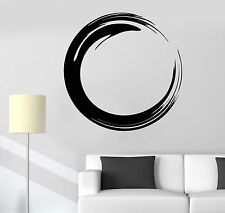 Vinyl Wall Decal Circle Enso Zen Buddhism Symbol Religion Stickers (693ig)
