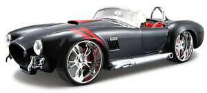 SHELBY COBRA 427 1:24 Scale Metal Diecast Toy Car Model Toy Miniature Black