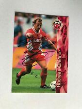 Autogramm ANDREAS BREHME-1.FC Kaiserslautern-Bundesliga Cards 96-ran Panini #120