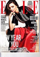 MIRANDA KERR,ALICIA KEYS,LILY ROSE DEPP, ZAYN MALIK,HARI NEF Hungarian magazine