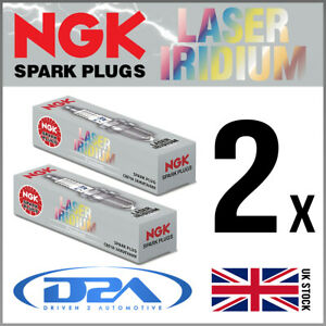 2x NGK LKAR8BI9 (1553) Laser Iridium Spark Plugs For KTM 990 Adventure R 09>12