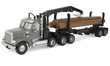 ERTL 1:32 *FREIGHTLINER* Logging Semi Truck & Trailer w/LOGS *BIG FARM* NIB!