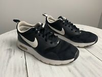 Nike Air Max Tavas Athletic Shoes Black Mesh 814443-001 Youth US Size 3.5Y USA