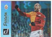 2016 Donruss Soccer Picture Perfect Holographic #10 Wesley Sneijder