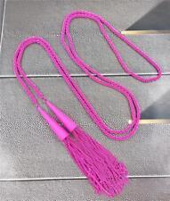 New Kendra Scott Phara Matte Magenta Tassel Necklace