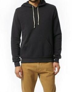 Alternative Apparel Men Pullover Hoodie 3XL Eco Black Fleece Challenger 9595