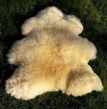 Haut médical bébé peau de mouton / D'agneau XXL langflorig neuf 110cm