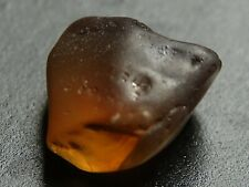 Zircon, Natural, Rough 3.17 ct Faceting Zircon, Australian Zircon.