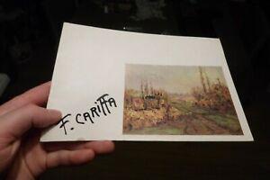 CARIFFA  peintre catalogue d'expo livret
