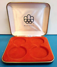 EMPTY BOX  for Canada Montreal 1976 olympic games coin proof set Series souvenir