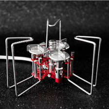Outdoor Mini Stove Camp Stove Cooking Gas Stove Ultralight Portable for Hiking