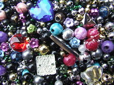 45 Grams Thousands of Beads Plastic/Acrylic Beads String Findings JewellryMaking