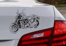 """Vmax, Auto-Motorrad-Aufkleber. für den """"Motorrad-Yamaha-Fahrer"""""""
