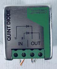Phoenix Contact Quint Diode Power Supply Redundancy Module 2938963