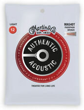 Martin Authentic Acoustic Lifespan Guitar Strings Phosp Bronze  MA540T .012-.054