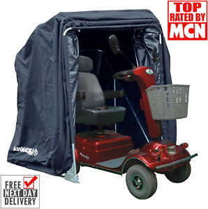 MOBILITY SCOOTER STORAGE SHELTER COVER MOTORCYCLE GARDEN LAWN MOWER SHED