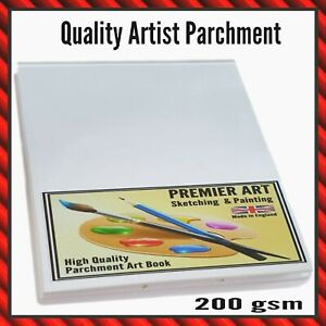 A5 Sketch Pad 30 Sheets Painting Books Artist Book Bound High Quality Artwork UK