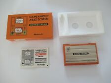 ☺ Ancienne Game & Watch Multi Screen Donkey Kong Nintendo Fonctionne Avec Boîte