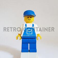 LEGO Minifigures - 1x trn026 - Mechanic - Omino Minifig 6655 6393 6391 6394 6378