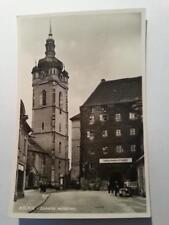 AK Postkarte Mělník Zámecká restaurace Restaurant 1934