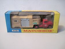 Vintage Matchbox King size K-18 Horse van in box
