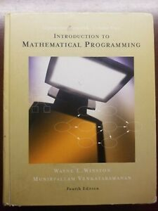 Introduction To Mathematical Programming Fourth Edition
