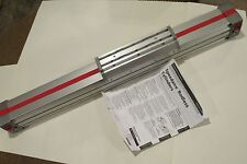 """New Speedaire 3FE41A Rodless Cylinder 2""""bore 18"""" Stroke Double Acting, Aluminum"""