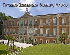 Spain - Madrid - Thyssen-Bornemisza Museum - Flexible Fridge MAGNET