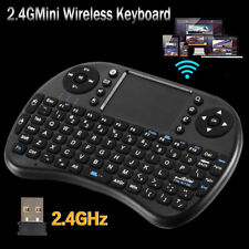 2.4G Mini Wireless Keyboard Touchpad Fly Air Qwerty Mouse For Android TV BOX  PC