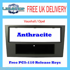 CT24VX06 VAUXHALL OPEL ASTRA H 2004> ANTHRACITE METALLIC FASCIA FACIA PANEL KEYS