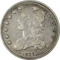 1836 25c Capped Bust Silver Quarter Coin XF EF Extremely Fine Details